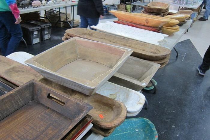 large dough bowls