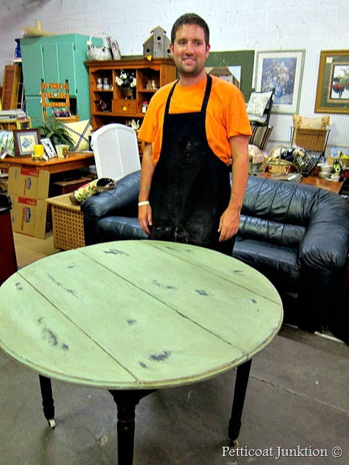 teaching furniture painting classes