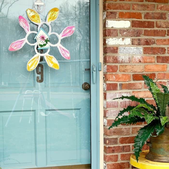 Dollar Tree Craft Wreath by Petticoat Junktion