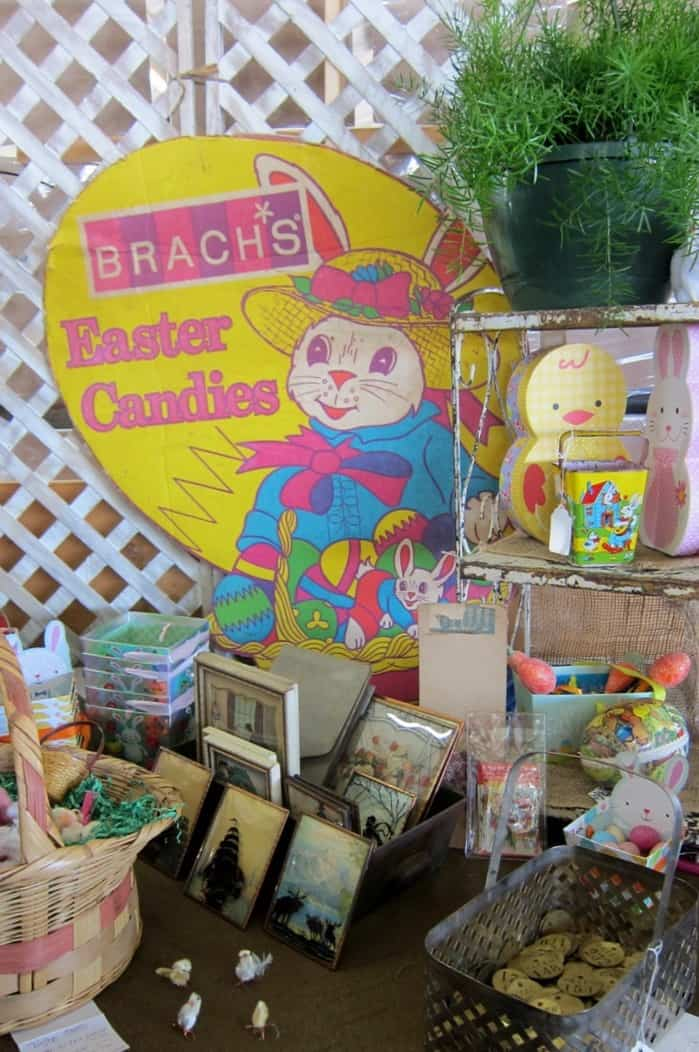 Easter decorations at the Nashville Flea Market Photos by Petticoat Junktion 28
