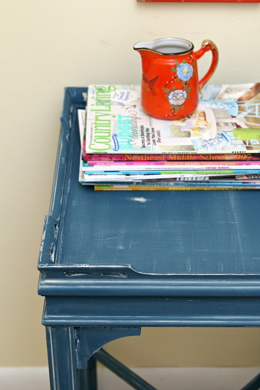 How To Use White Wax On Chalk Painted Furniture