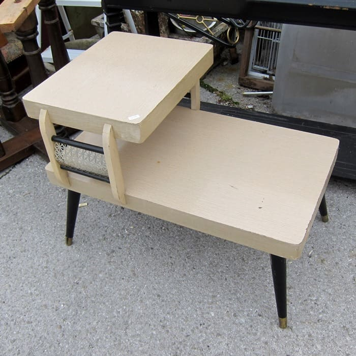 art deco type table