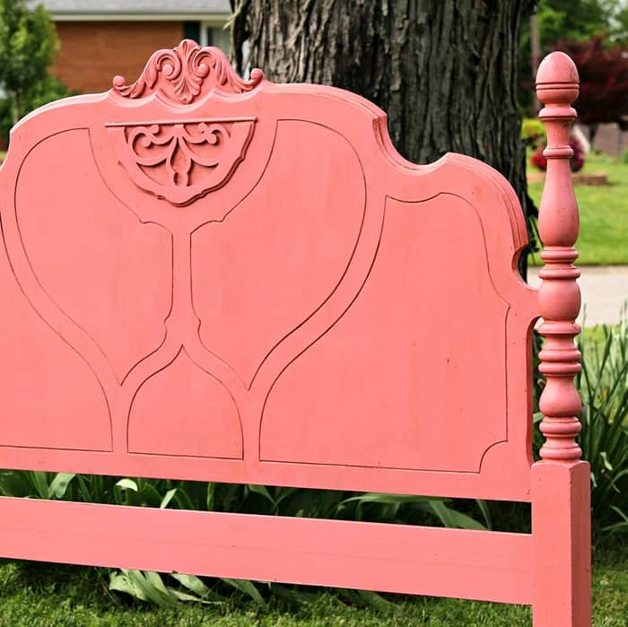 how to antique furniture or age painted furniture for an old paint finish