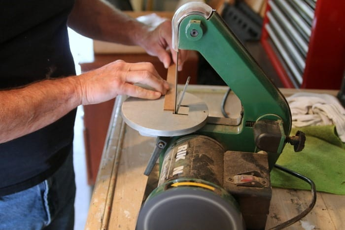 cutting wood for furniture repairs