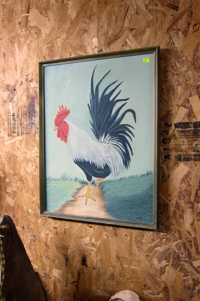 flea market rooster picture