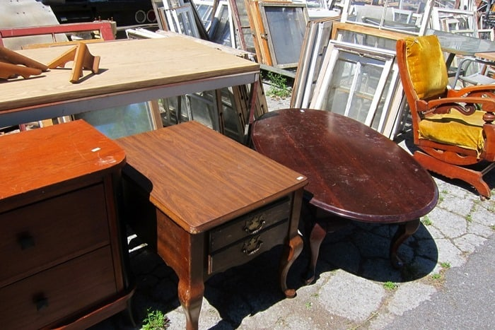 furniture at my favorite junk shop