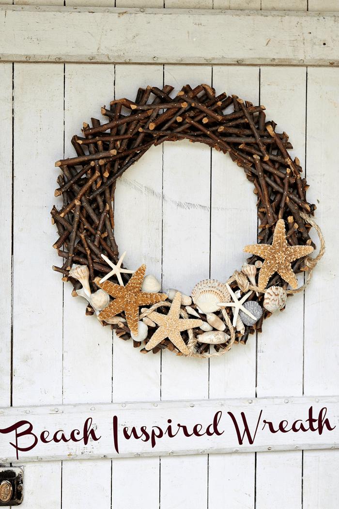 Beach Inspired Wreath