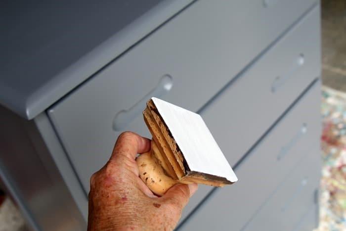 FolkArt Layering Block for painting furniture