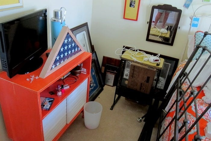 remove pictures from the wall to prep for painting and store away
