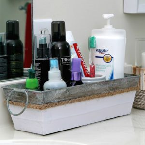 bathroom counter organizer