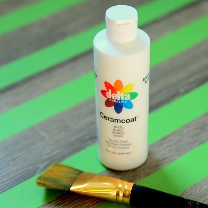 Delta Ceramcoat paint from Taget is great for any craft or furniture painting project