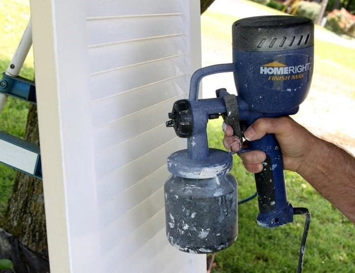 HomeRight Finish Max Paint Sprayer project