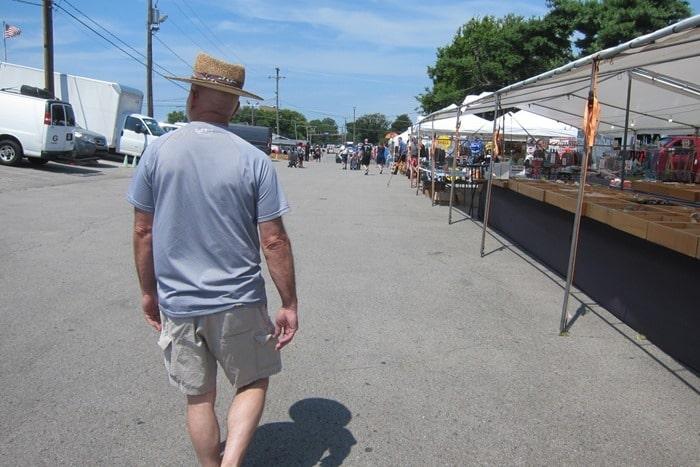 Nashville Flea Market Shopping Trip Petticoat Junktion 1