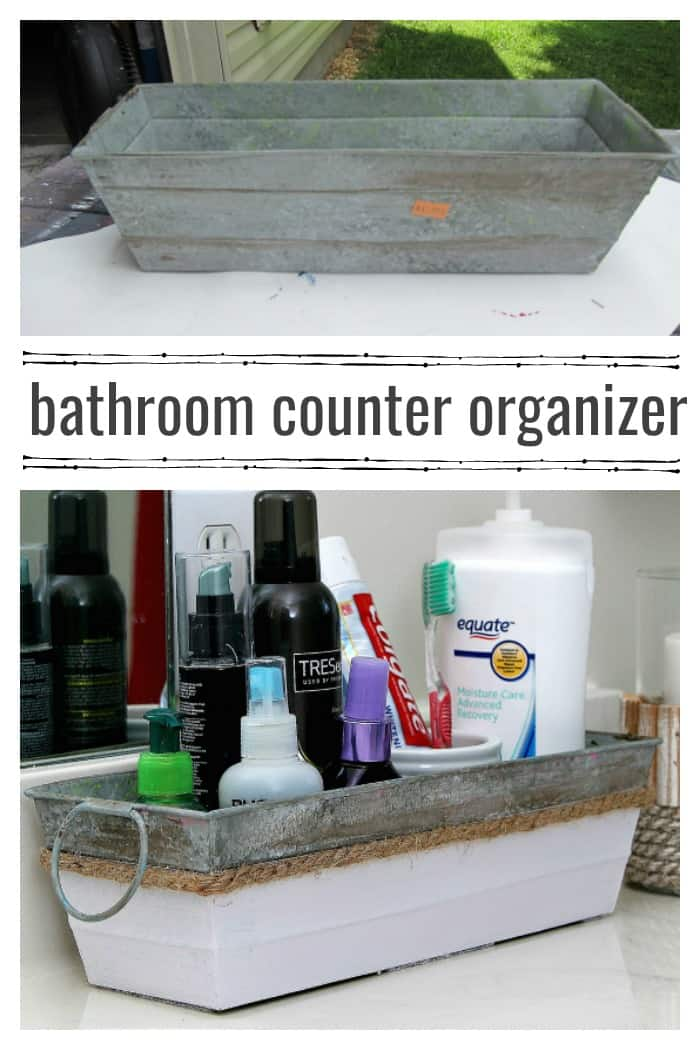 bathroom vanity counter organizer for personal products