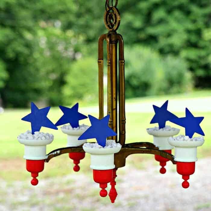 brass chandelier project idea