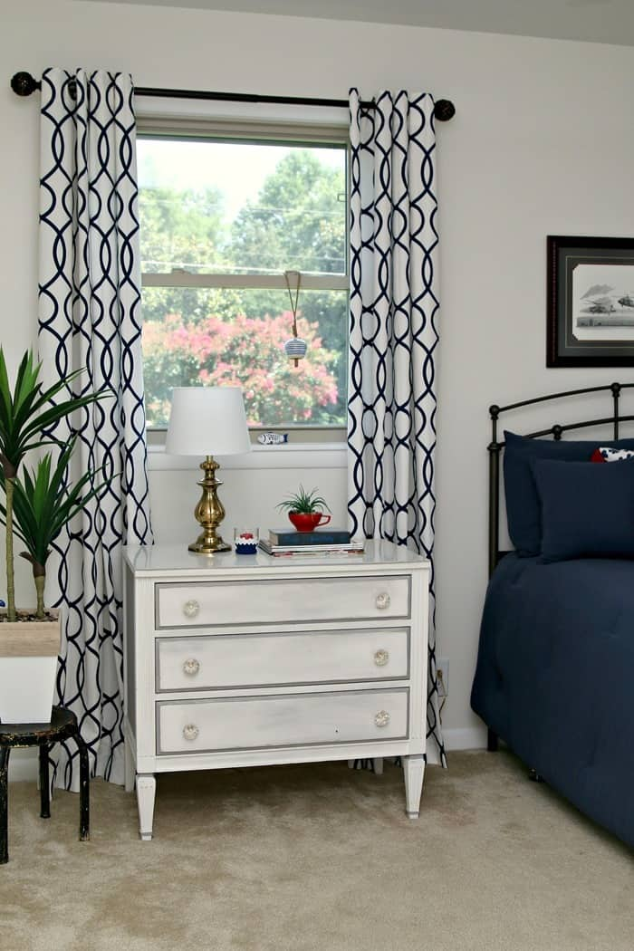 new painted furniture transforms a room