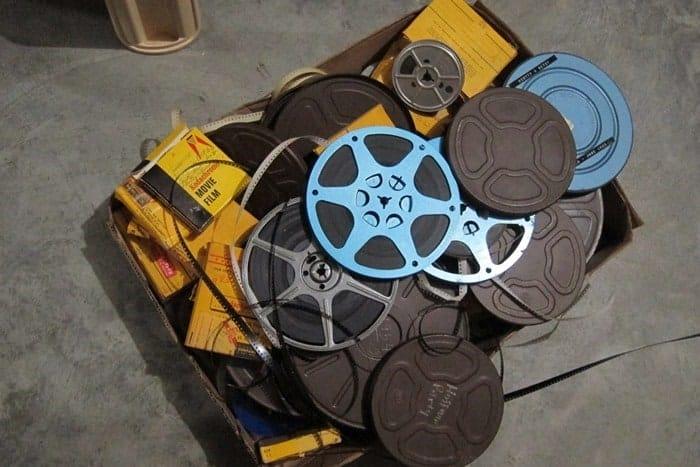 old 8mm movie reels