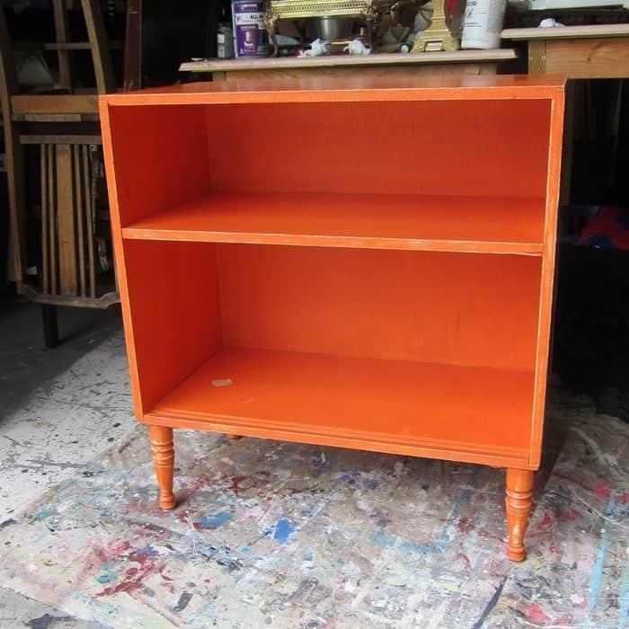 orange furniture to paint