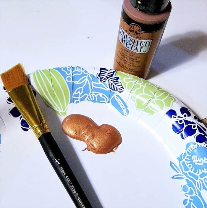 FolkArt Metallic Copper Paint