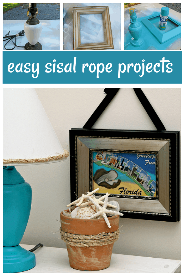 easy sisal rope projects