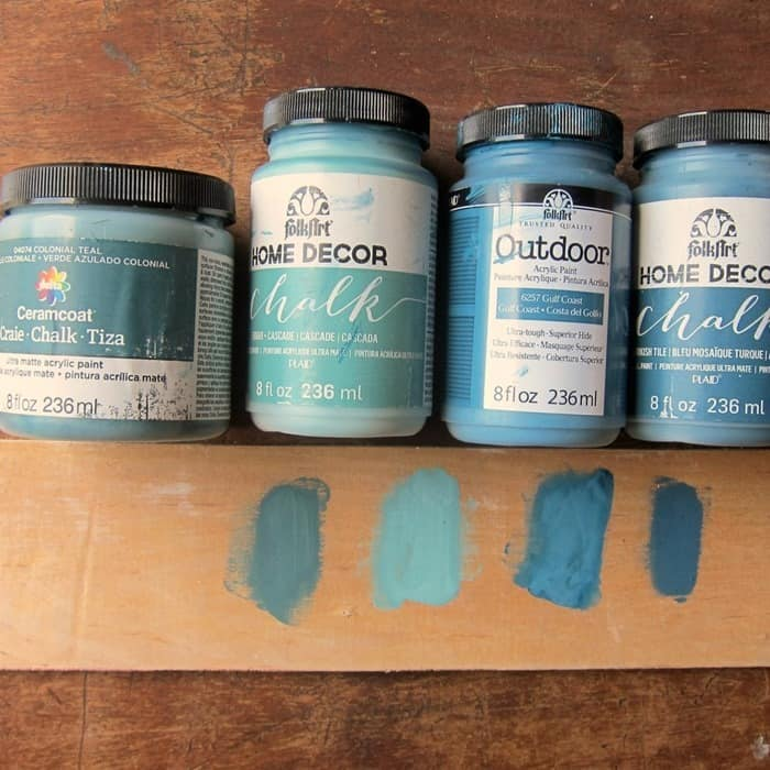selecting blue paint colors for furniture