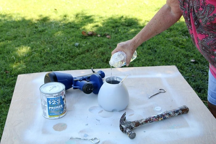 thin paint when using a paint sprayer
