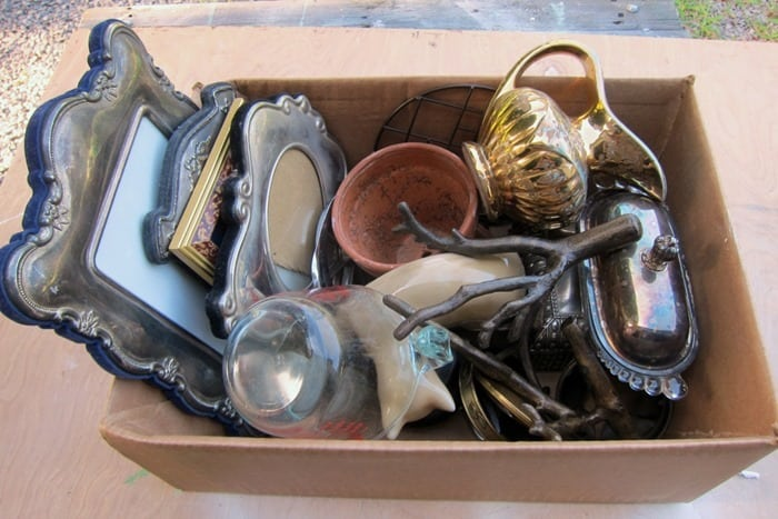 Auction Haul Vintage S & P Shakers, Silver Plate, Scary Halloween, More