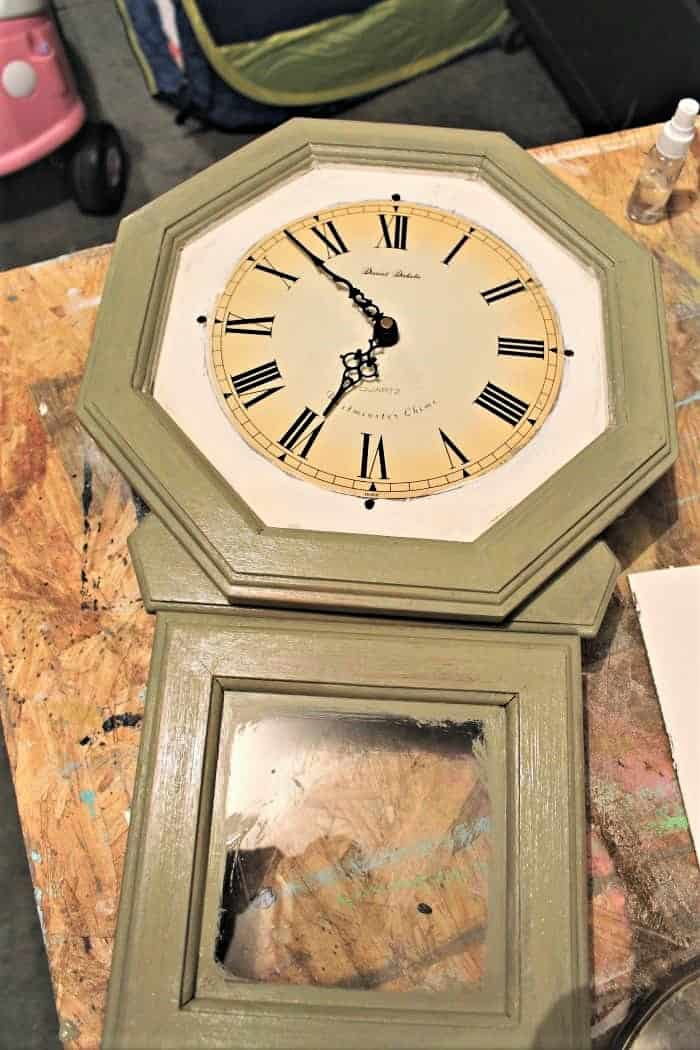 Beyond paint for a clock makeover (2)