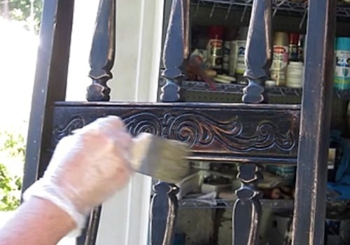 applying wax to furniture