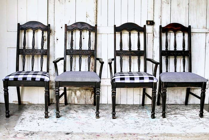 dining room chair paint ideas