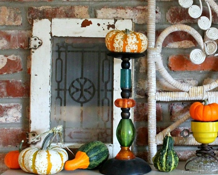 11 Imaginative Fall Mantel Displays You'll Want To Copy