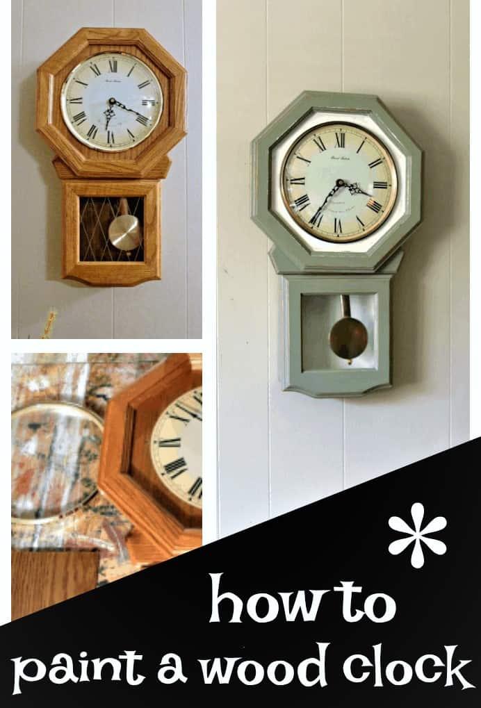 paint a clock