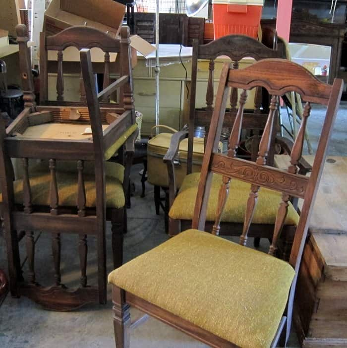 yard sale chairs