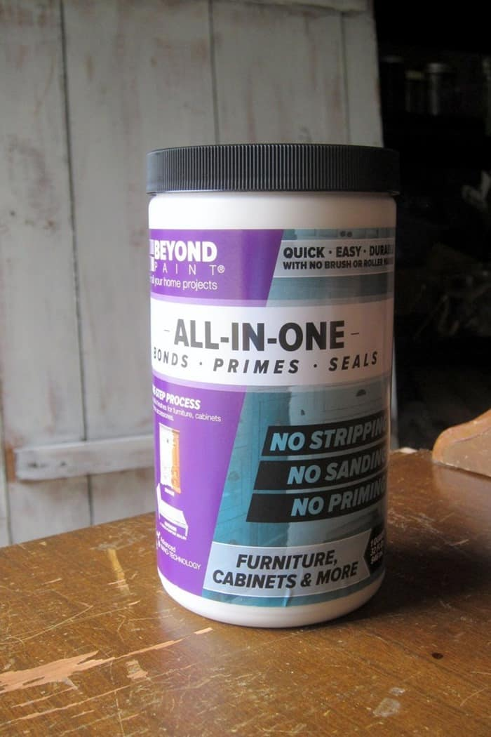 Beyond paint for furniture and cabinets requires no priming or waxing