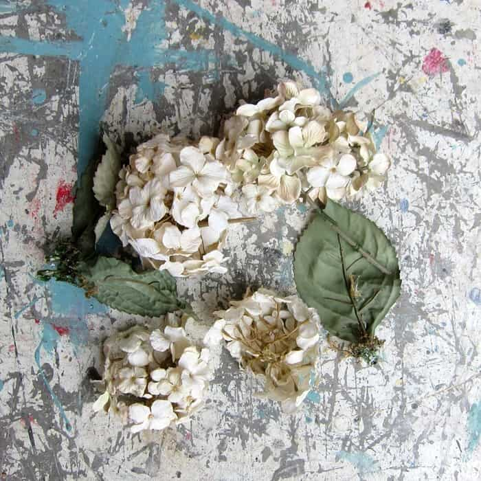 artificial flowers for a DIY project