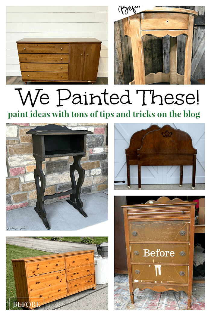 tutorials on how to paint furniture