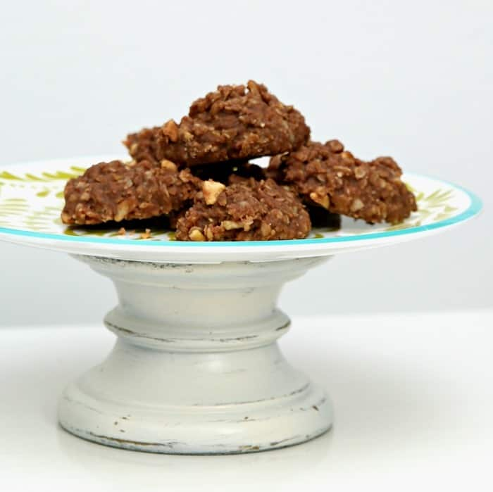 cookie serving stand with no bake chocolate cookies 1