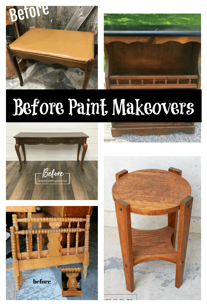 furniture before paint makeovers