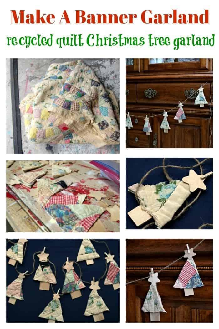 make a tree garland or banner