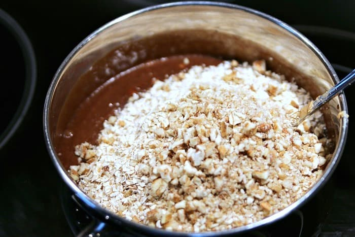 oatmeal and pecans no bake cookies