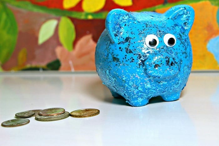 teach kids how to save their pennies and give them a piggy bank for a gift