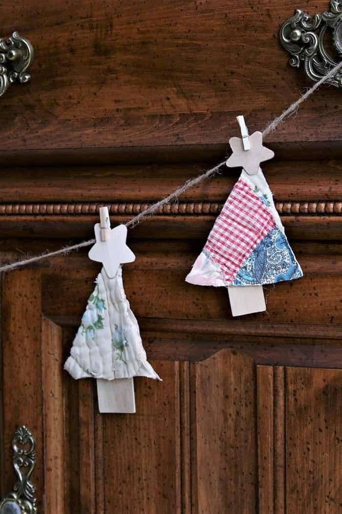 upcycled recycled Christmas ornament idea