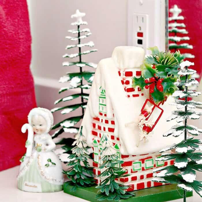 A peek at my vintage Christmas Decorations