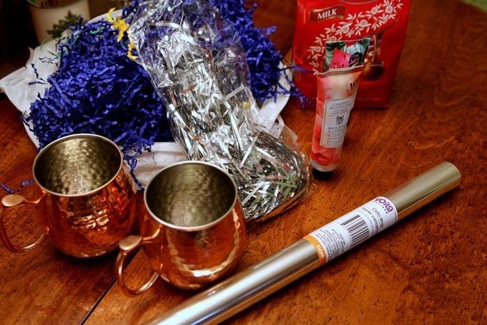 supplies for a last minute gift mug