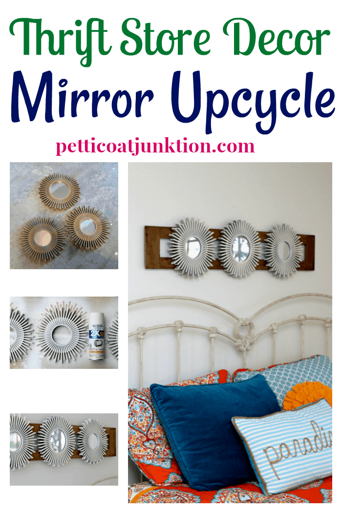How I Upcycled Thrift Store Mirrors Into Upscale Wall Decor