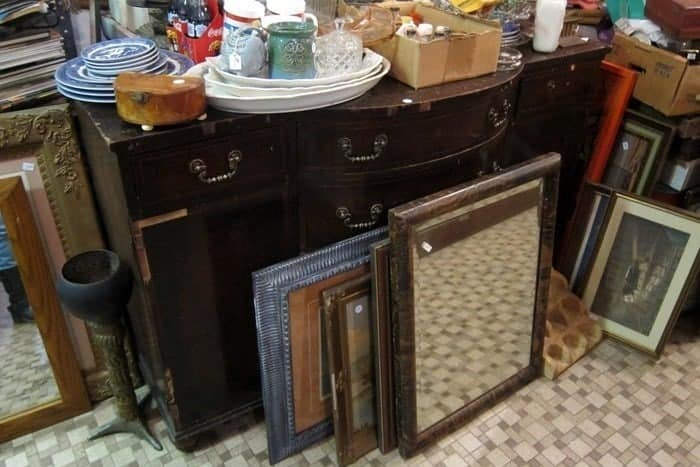 Two Vintage Sideboards From The Junk Shop