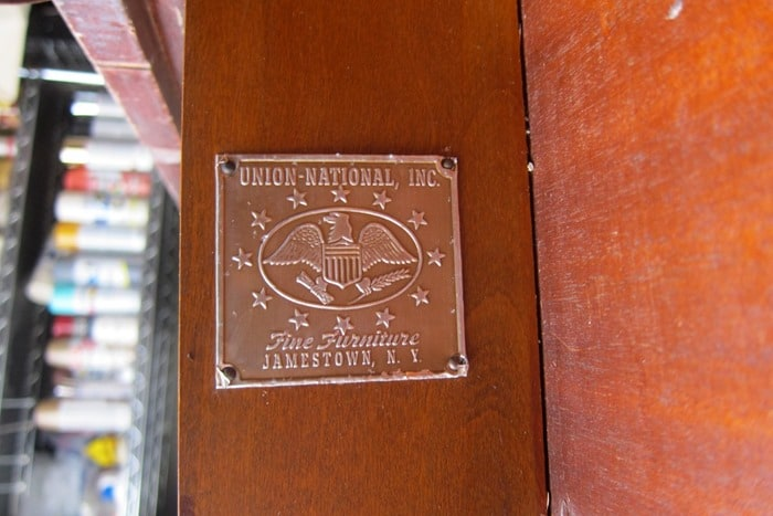 Union National Inc. vintage furniture