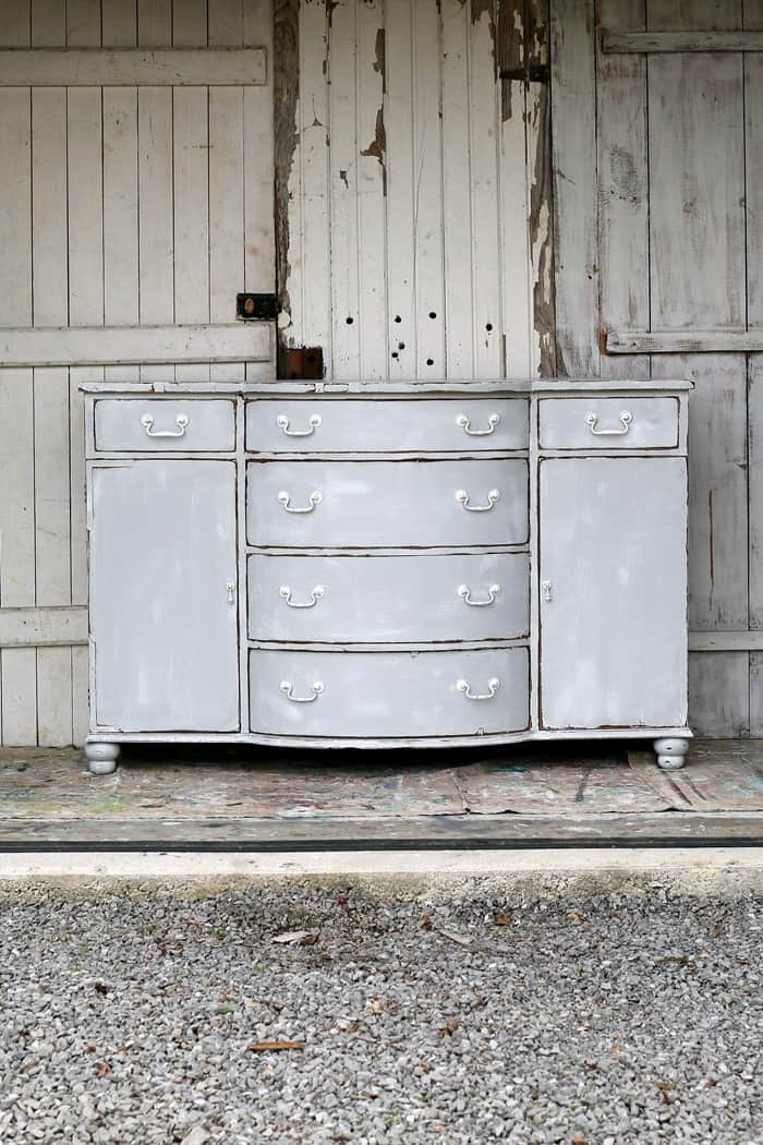 Weathered Gray Sideboard Nantucket Style, Beach style, or what