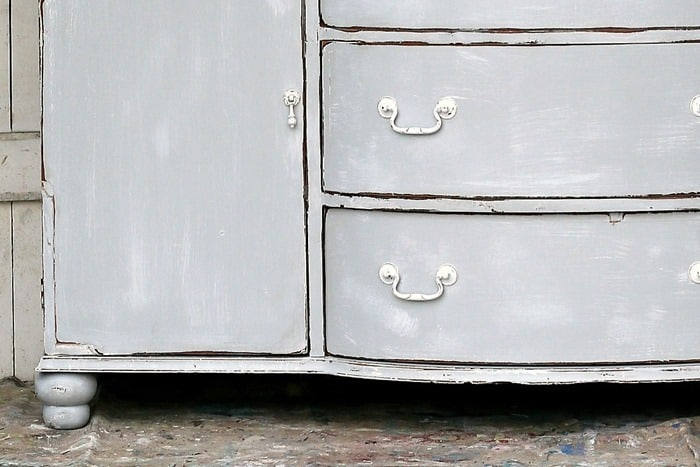 rustic weathered gray furniture