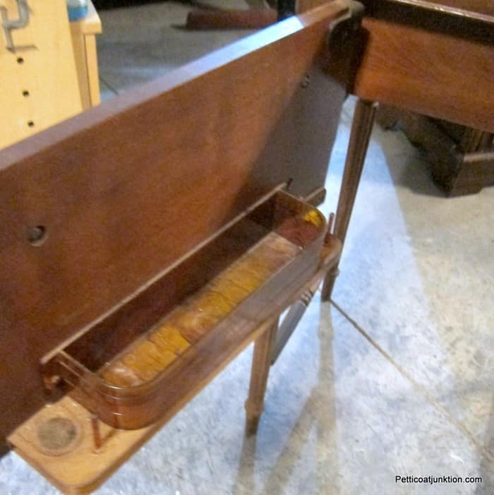 sewing maching cabinet